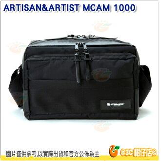 ARTISAN&ARTIST MCAM 1000 防水相機包 公司貨 A&A 1機2鏡 11吋 平板 筆電 側背包 攝影相機包 黑色