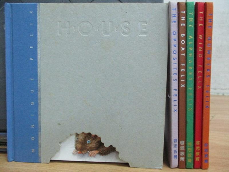 【書寶二手書T9/兒童文學_REN】The boat felix_The_house felix等_共6本合售