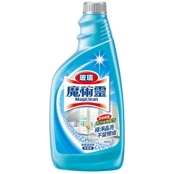 魔術靈 玻璃清潔劑 更替瓶 500ml