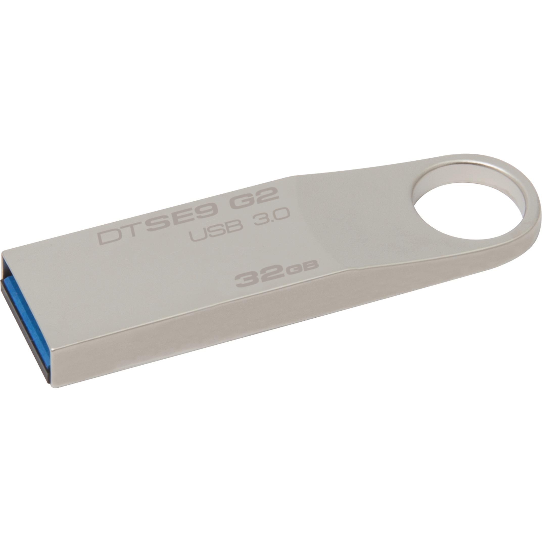 Kingston 32GB DataTraveler SE9 G2 32G DTSE9G2 USB 3.0 100MB/s Metal Flash Pen Thumb Drive DTSE9G2/32GB 0
