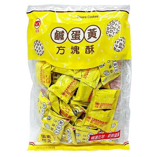 莊家 鹹蛋黃方塊酥 230g