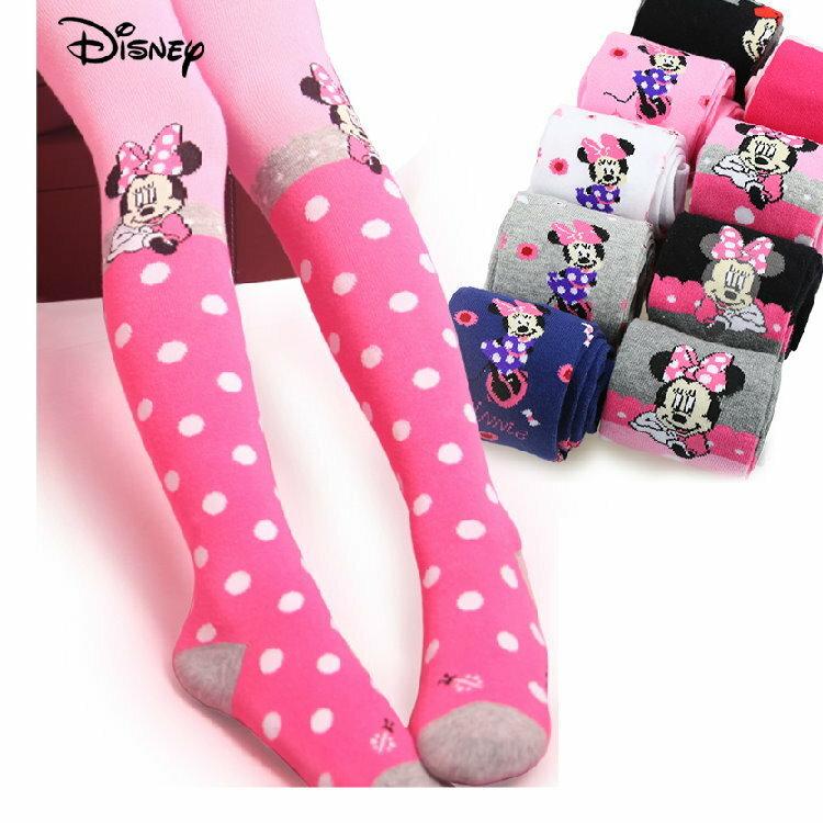 正版Disney 迪士尼 春秋女童褲襪 米妮款(一雙入)