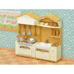 【Fun心玩】EP29640 麗嬰 日本 EPOCH 森林家族 廚房櫥櫃組(不含玩偶) 玩具 家家酒 聖誕 生日 禮物