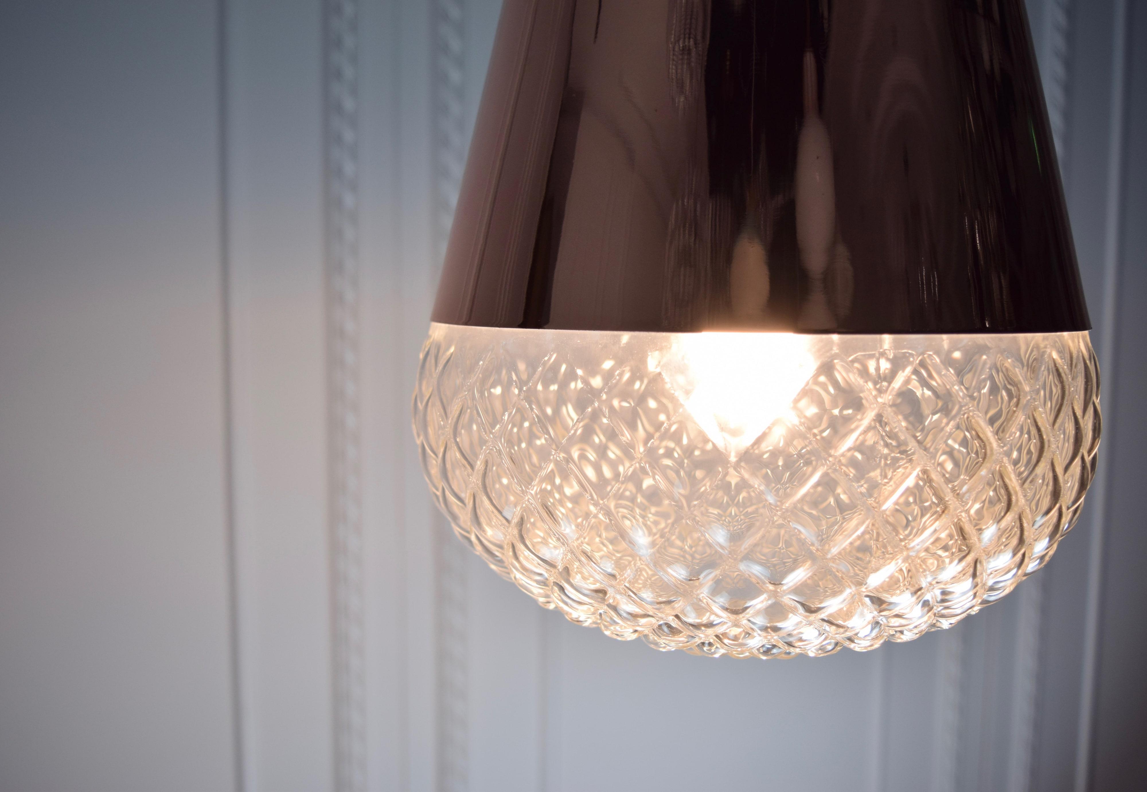 紅銅玻璃吊燈-BNL00118 2