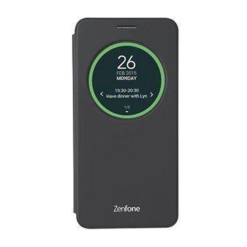 (+贈玻璃貼)原廠 智慧透視皮套/ASUS ZenFone Go ZC500TG/手機殼/智能皮套/視窗皮套【馬尼行動通訊】