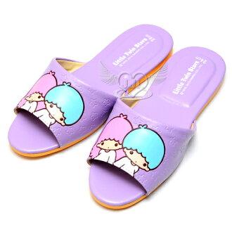 雙子星台灣製室內拖鞋紫色24~26cm 3選1 73522742*JJL*