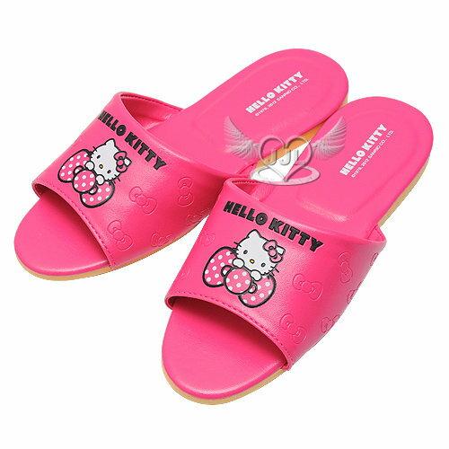 HELLO KITTY兒童室內拖鞋桃紅色18 20 22cm 製 3選1 16959917