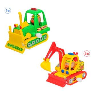 麵包超人推土機挖土機怪手發條玩具車 2選1 01175428*JJL*