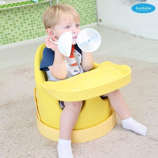 【贈收納袋】安琪兒【Bonbebe】360度歡樂多功能幫寶椅-藍色 3