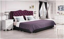 【石川家居】YE-A35-07 奧莉薇6尺紫色絨布床頭片 (不含床底與其他商品) 台北到高雄搭配車趟免運