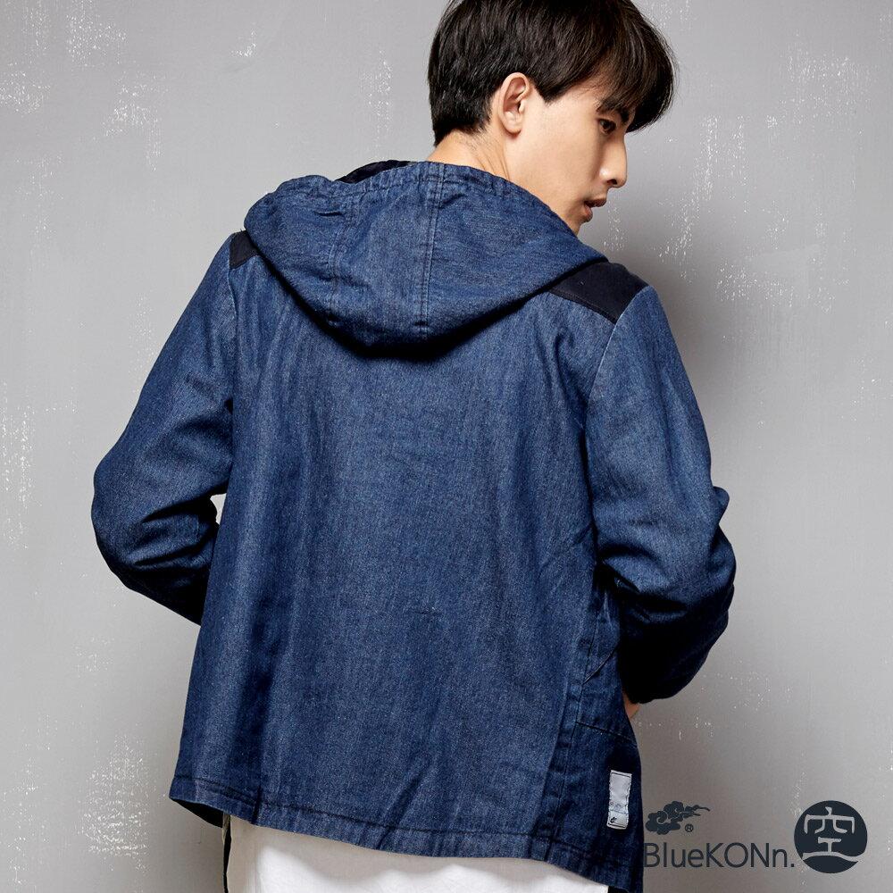 【限時5折】水洗刷色牛仔鋪棉外套 - BLUE WAY  BlueKONn.空 2