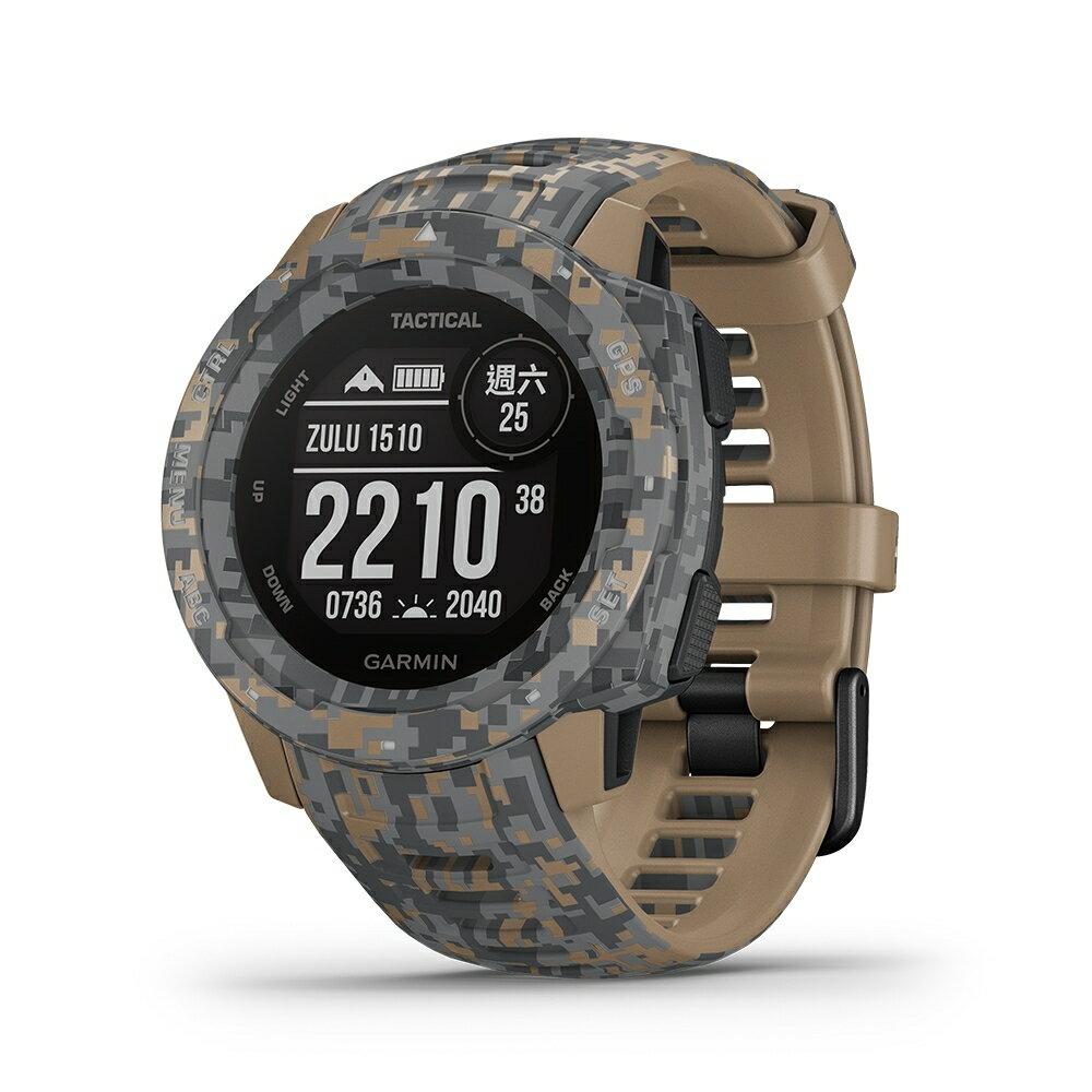 GARMIN INSTINCT TACTICAL EDITION 本我系列 軍事戰術版 軍用規格防水戶外多功能GPS腕錶 『贈日本SASAKI運動毛巾』 免運 3