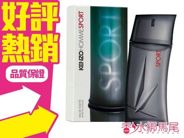 KENZO 高田賢三 Pour Homme Sport 海洋藍調 運動淡香水 香水空瓶分裝 5ML◐香水綁馬尾◐