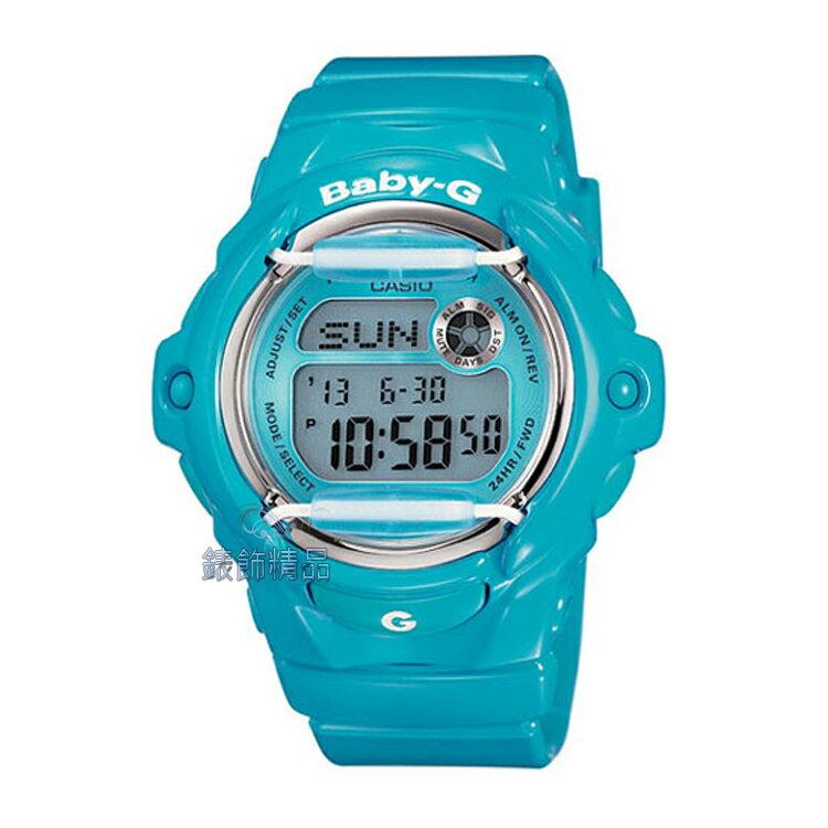 【錶飾 】 CASIO卡西歐Baby-G防水200米BG-169R-2BDR亮藍BG-16