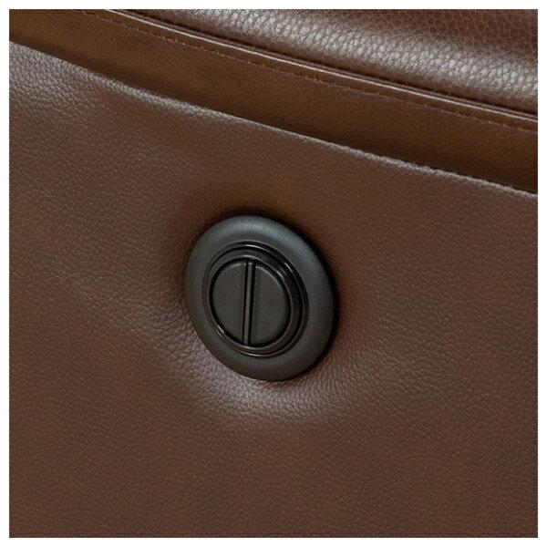 ◎(OUTLET)全皮3人用頂級電動可躺式沙發 BELIEVER ROYAL DBR 福利品 NITORI宜得利家居 8