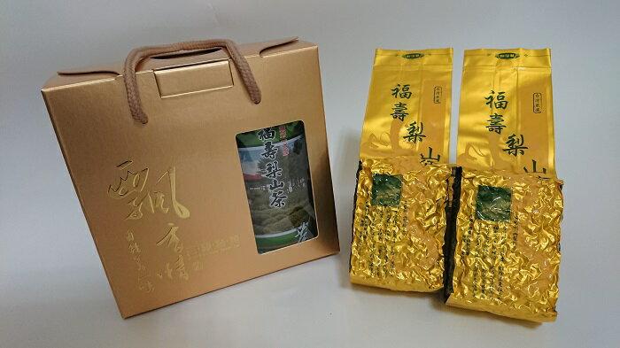 玉山茶苑    福壽梨山茶半斤禮盒  300g