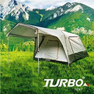 【露營趣】中和安坑 TURBO TT-TL300 TENT Lite 300 8人快速帳篷 專利快速帳 八人帳 30秒快速帳 速搭帳篷 鋁柱 露營 野營