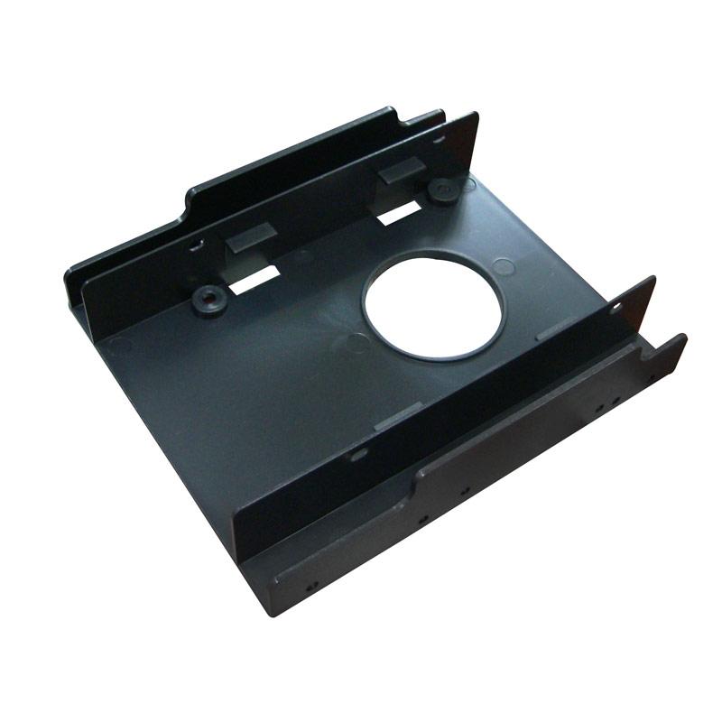 """【迪特軍3C】2.5吋SSD固態硬碟可裝2顆轉3.5""""槽位轉接架"""