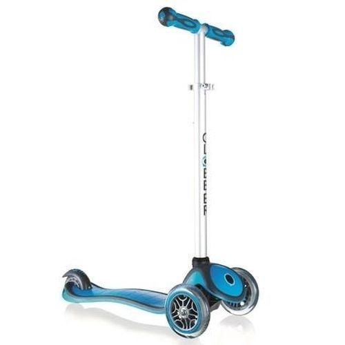 Globber哥輪步兒童2合1三輪滑板車(天空藍)★衛立兒生活館★