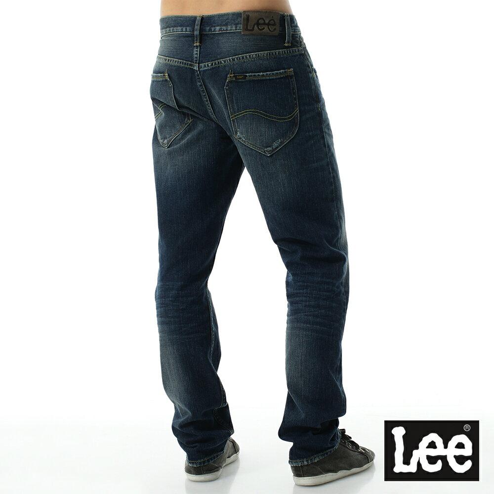 Lee 735 中腰舒適小直筒牛仔褲 RG 男款