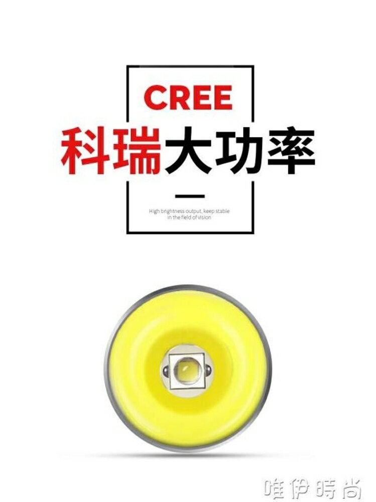 頭燈 神火感應頭燈強光充電超亮頭戴式夜釣魚燈戶外LED防水手電筒礦燈 唯伊時尚 1
