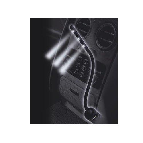 權世界@汽車用品 日本 Kashimura 點煙器式 車內白光LED超亮投射照明燈 閱讀燈 KX-159
