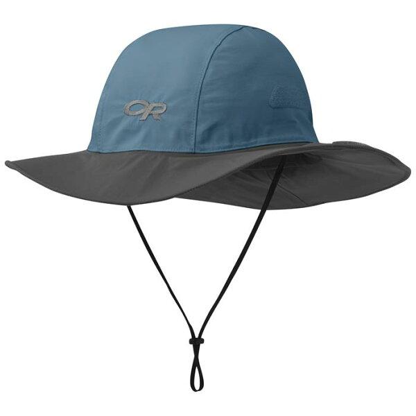 OutdoorResearch西雅圖防水圓盤帽登山帽SeattleGore-texOR2435051212孔雀藍