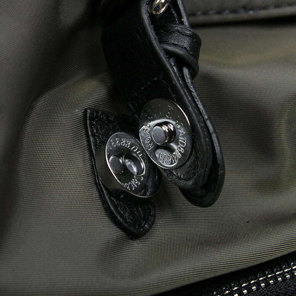 【BEIBAOBAO】倫敦學院防水布配真皮後背包(共兩色:時尚黑) 9