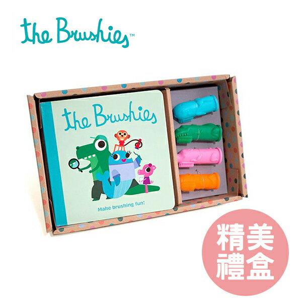YODEE 優迪嚴選:TheBrushies美國可愛動物造型手指牙刷豪華精裝組