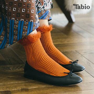 【靴下屋Tabio】毛毛結繩圖案短襪  /  日本職人手做 0