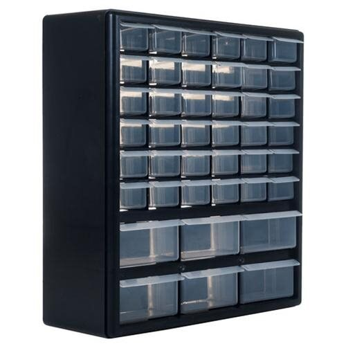 Deluxe 42 DRAWER COMPARTMENT STORAGE BOX 14 x 17 0