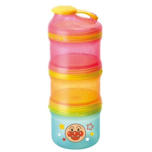 【真愛日本】16020500003三層2WAY收納罐-AP Anpanman 麵包超人 嬰幼兒 奶粉罐 收納 正品