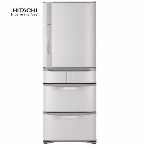 【領卷再折價】HITACHI日立R-S57GJRS57GJ香檳不銹鋼557L五門變頻電冰箱日本製