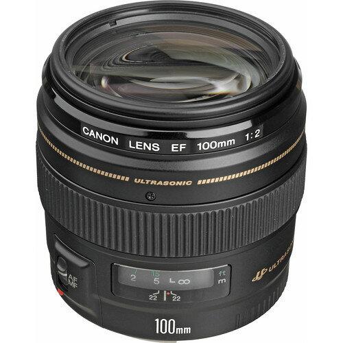 Canon EF 100mm f/2 USM Lens International Version 2518A003 0