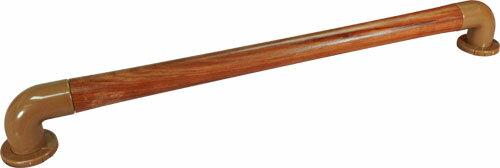 天然實木安全扶手—弧度I型(60cm ABS蓋板彎管)