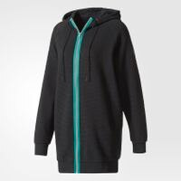 Adidas愛迪達,adidas愛迪達外套推薦到Adidas EQT Hooded Track Jacket 女裝 外套 連帽 慢跑 休閒 純棉 黑  【運動世界】BP9230