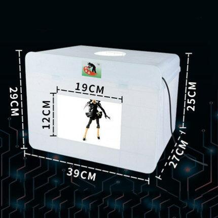 攝影棚 好拍點 LED燈箱小型柔光拍攝燈箱靜物產品拍照燈箱文玩珠寶『CM2057』