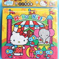 凱蒂貓週邊商品推薦到Hello Kitty凱蒂貓拼圖 100片拼圖 世一C678042 KT幼兒卡通拼圖(大方形/加厚)MIT製/一個入{促120}~正版授權