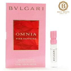 BVLGARI 寶格麗 OMNIA 粉晶女性淡香水 1.5ml 針管《Belle倍莉小舖》