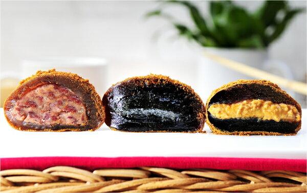 杏芳食品 沖繩黑糖日式手工麻糬 (綜合8入) 0