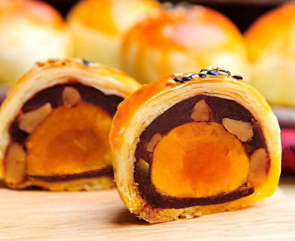 【月餅評比】「大溪老店─杏芳食品」核桃蛋黃酥8入