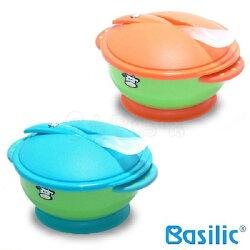 Basilic 貝喜力克D096吸盤碗組/外出兒童餐具組【六甲媽咪】