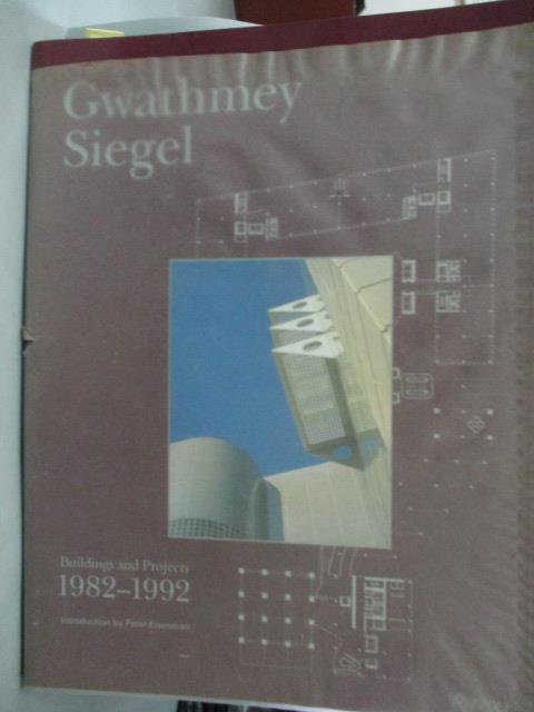 ~書寶 書T2/ _ZEJ~Gwathmey Siegel: Buildings and