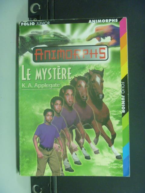~書寶 書T1/原文小說_GOS~ Le Myst re_ K.A. Applegate