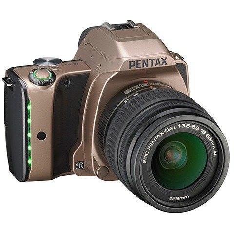 PENTAX 06581 20.0 Megapixel K-S1 Digital SLR Camera (Dusk Gold) International Version 0