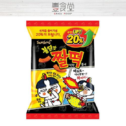 SAMYANG 火辣雞肉風味年糕餅乾 韓式炒年糕 120g 【異國零食】韓國熱銷▶全館滿499免運