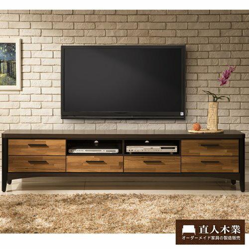 【日本直人木業】BRAC層木206CM電視櫃