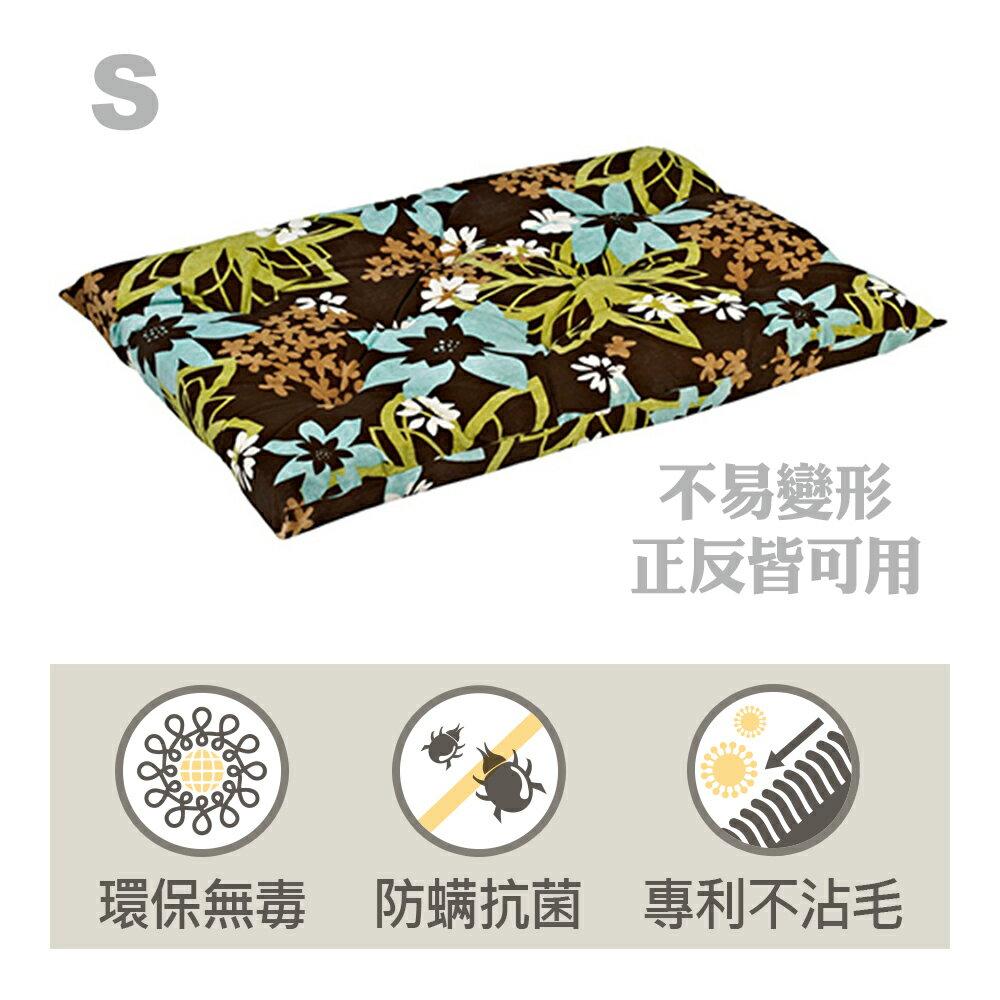 BOWSERS加厚極適寵物睡墊-熱帶花花-S - 限時優惠好康折扣
