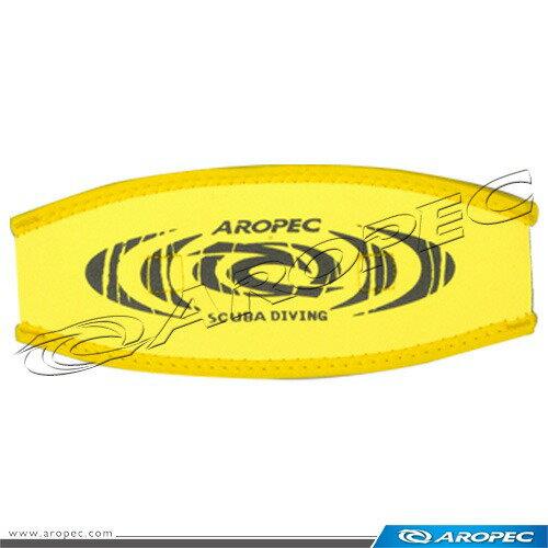 【【蘋果戶外】】AROPECMS-20黃2mmNeoprene雙層面鏡帶(無織帶,需搭配原面鏡帶使用)亞洛沛TUSAIST可考慮
