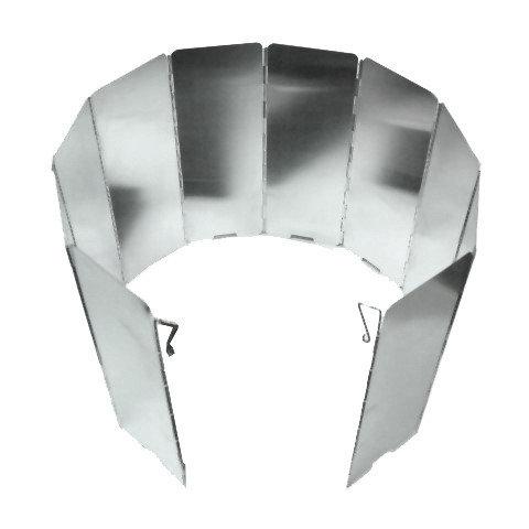 【鄉野情戶外用品店】 10片鋁合金擋風板-盒裝/WL004NB